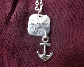 Seaside charm necklace.