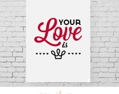 Your Love is King 1984 by Sade | instant download 8x10 color printable art, DIY art prints, printable art, office art, wall art