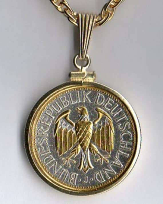 German Wedding Gift For Him And Her German 1 Mark Gold