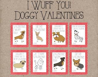 Dog Valentine | Etsy