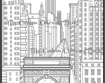 brooklyn bridge coloring pages - photo#20