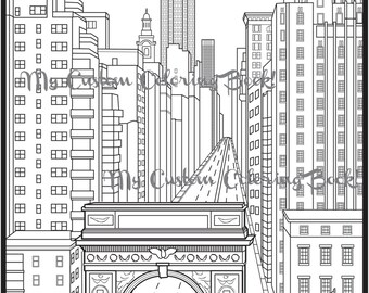 brooklyn bridge coloring pages - photo#12