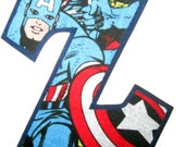 Marvel Overlay (4 inch Greek letters ~ Iron-On/Sew-On)