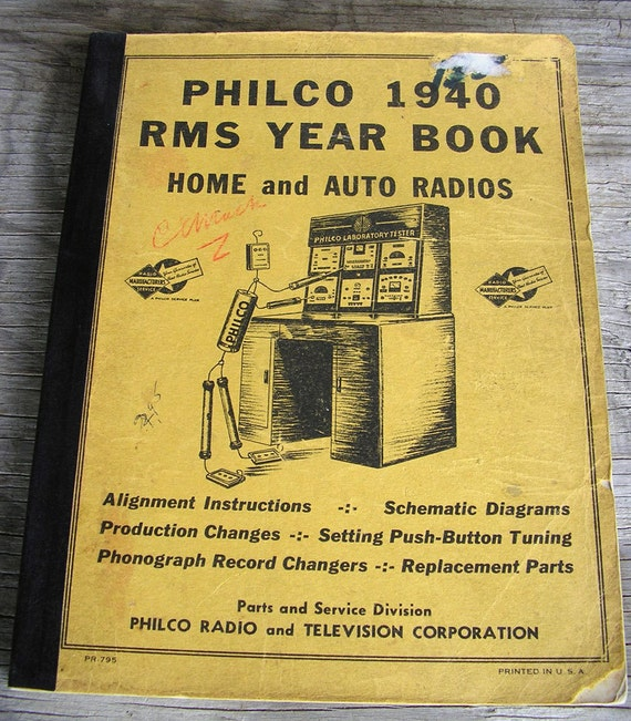 Radio Replacement Parts Philco 1940 Year on vintage philco radio diagrams