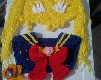 Crochet Sailor Moon costume