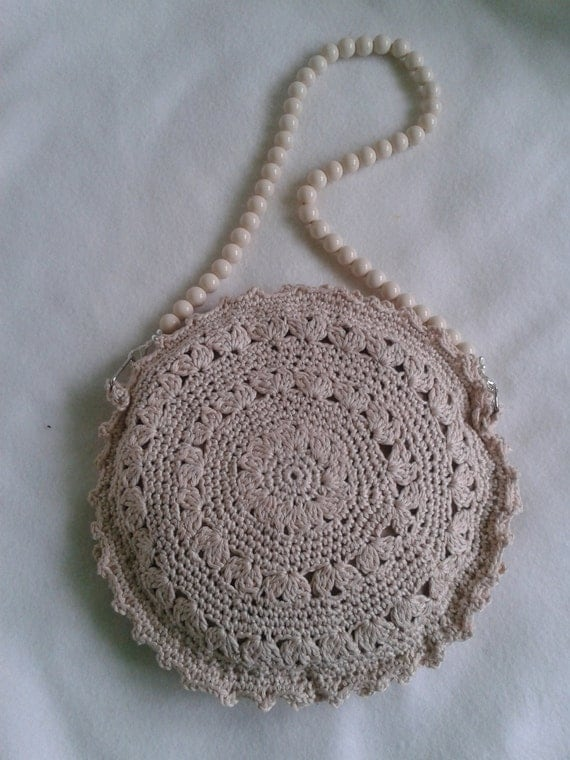Handmade crochet handbag, crochet purse, shoulder bag, Women handbag ...