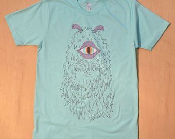 Frank The One Eyed Monster American Apparel T-Shirt