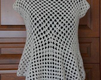 Beige Swimsuit Cover-Up