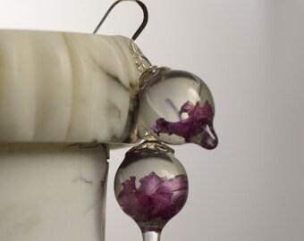 Flower Earrings. Flower Jewelry. Statement Jewelry. Statement Earrings. Pink Earrings.  Pink Jewelry. Wedding Jewelry. Free Shipping!!!