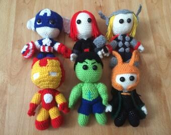Avengers / Marvel Crochet Characters