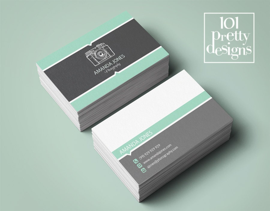Mint business card premade business card custom business card mint business card premade business card custom business card designprintable business card reheart Gallery