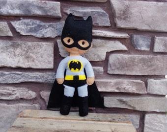 Plush Super Hero Doll - Batman