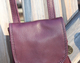 Leather String Pocket Purse