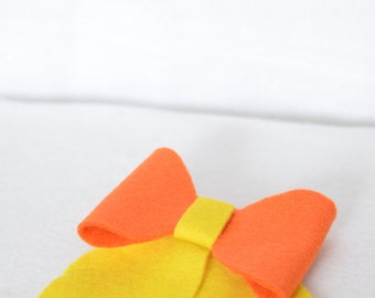 Pokemon Flareon Hair Bow Clip Eeveelution Cosplay