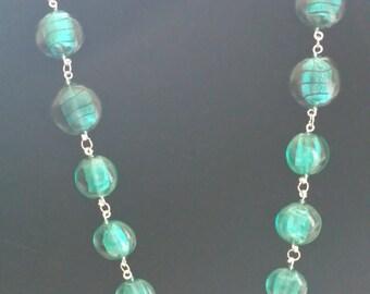 Chunky glasswork Necklace