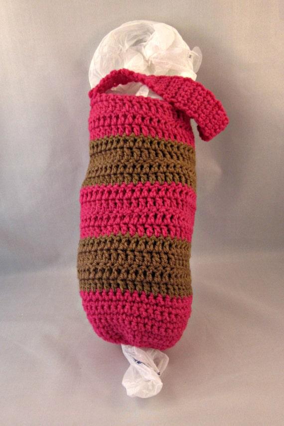 Grocery Bag Holder Crochet