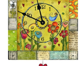 Spring Clock
