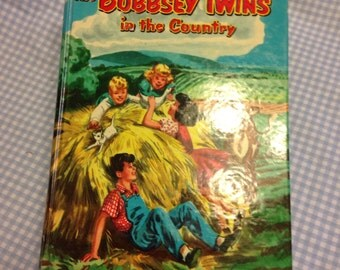The BOBSEY TWINS -In the Country Vintage Hardback Book