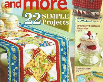 Quilts and More Magazine, Summer 2012