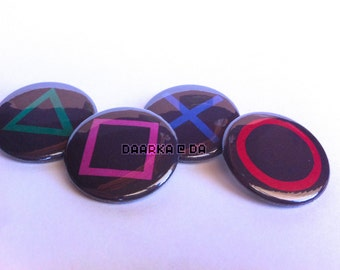 PlayStation Set (Pin-Back Buttons)