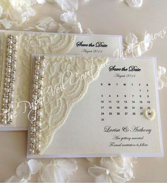 glitz and glamour vintage lace collection save the date magent