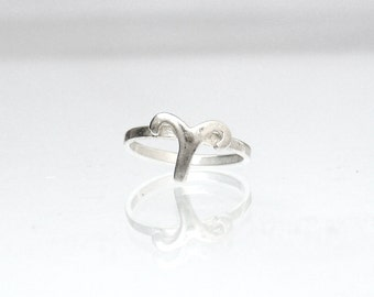 Horoscope Zodiac Ring - Aries Zodiac Sign Ring - Thin Astrological Ring - Astrology Jewelry - Horoscope Ring - Bridesmaid Gift - Aries Ring