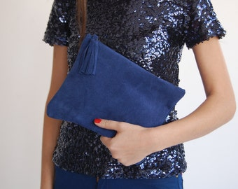 Leather bag, evening clutch, iPad sleeve, leather purse, leather evening bag, clutch for women, bridesmaid gift, womens purses