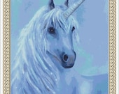 Unicorn Counted Cross Stitch Pattern in PDF for Instant Download