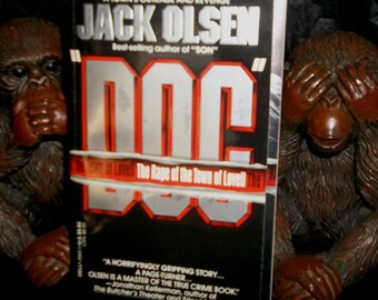 DOC Jack Olsen True Crime Book 1990 Author of SON and Night Of The Grizzlies