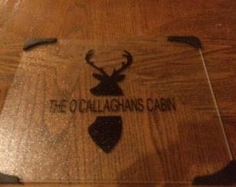 Custom Deer Kitchen Cutting Board