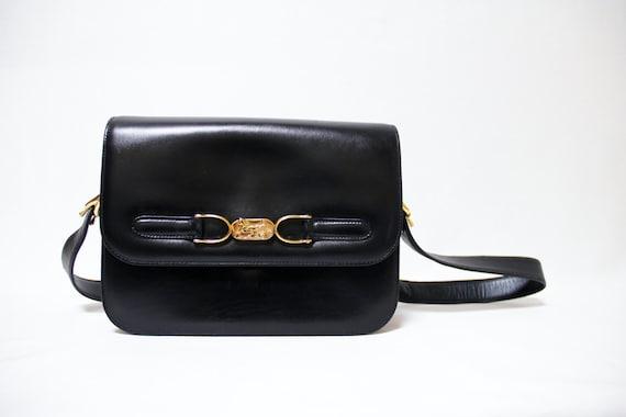 CELINE Vintage Designer Handbag Shoulder Bag Box by CoQBoutique