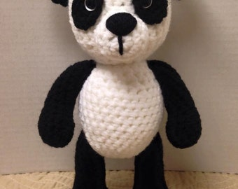 Panda Bear (PDF pattern only, this is not the finished doll)