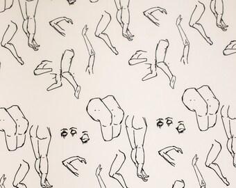Body Parts Pattern