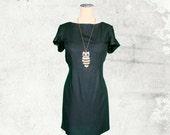 PDF Sewing Pattern Woman's Poppy T-Shirt Dress - D1402 Sizes 2-12