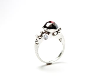 Silver Heliocentrics Asteroid Belt Ring