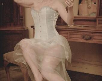 Glacial Ice corset