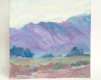 Mountain Landscape Oil Painting by Paul Casebeer
