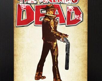 The Walking Dead - Rick Grimes Print