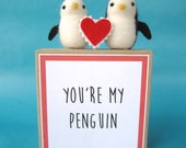 Penguins in Love with Box