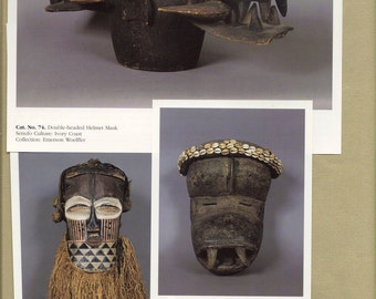 African Art Catalog Clip Art Snippets for Paper Arts, Collage, Scrapbooking and MORE PSS 2310