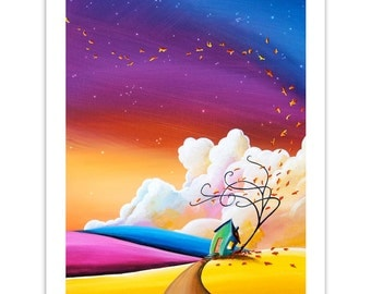 Limited Edition - Autumn Skies III - Signed 8x10 Matte Print (5/10)