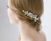 Bridal Hair Comb,  Wedding Hair Piece, Crystal Hair Comb,  Wedding Pearl Hair Comb ,  Bridal Hair Accessories