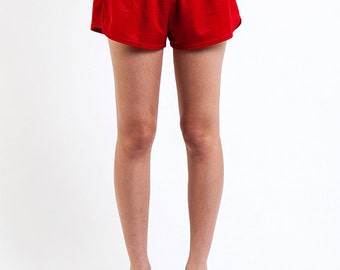 The Vintage Red Mini Baller Shorts