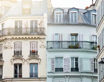 Paris Photography - Morning Light, Paris Architecture, Urban Decor, French Decor, Large Wall Art