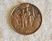 1990 Medallic Art Co - Danbury CT - Bronze - Foothill Ranch