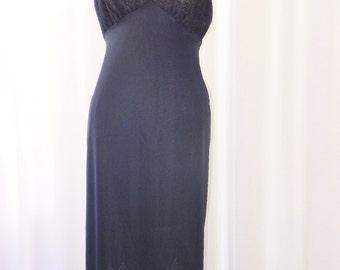 Van Raalte Old Stock Vintage Dress Slip Opaquelon Sheer Bra Cups 1950's Size 38