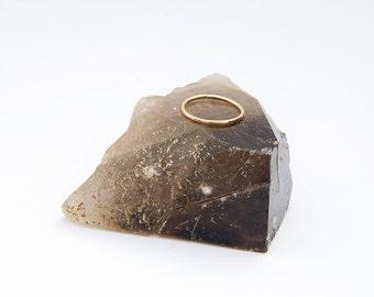 12k Gold Stacking Ring