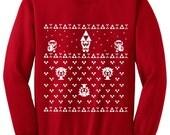 Special Price Zelda Ugly Christmas Sweater inspired -Sweatshirt - Unisex Sizes