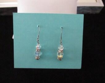 Vintage Crystal Drop Earrings Pierced Earrings Wedding Jewelry Costume Jewelry Vintage Bridal Accessories SHIPSWORLDWIDE YourFineHouse