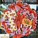 Deco Mesh Tennessee Vols Mesh Wreath, deco mesh wreath, vols wreath, football wreath, wreath